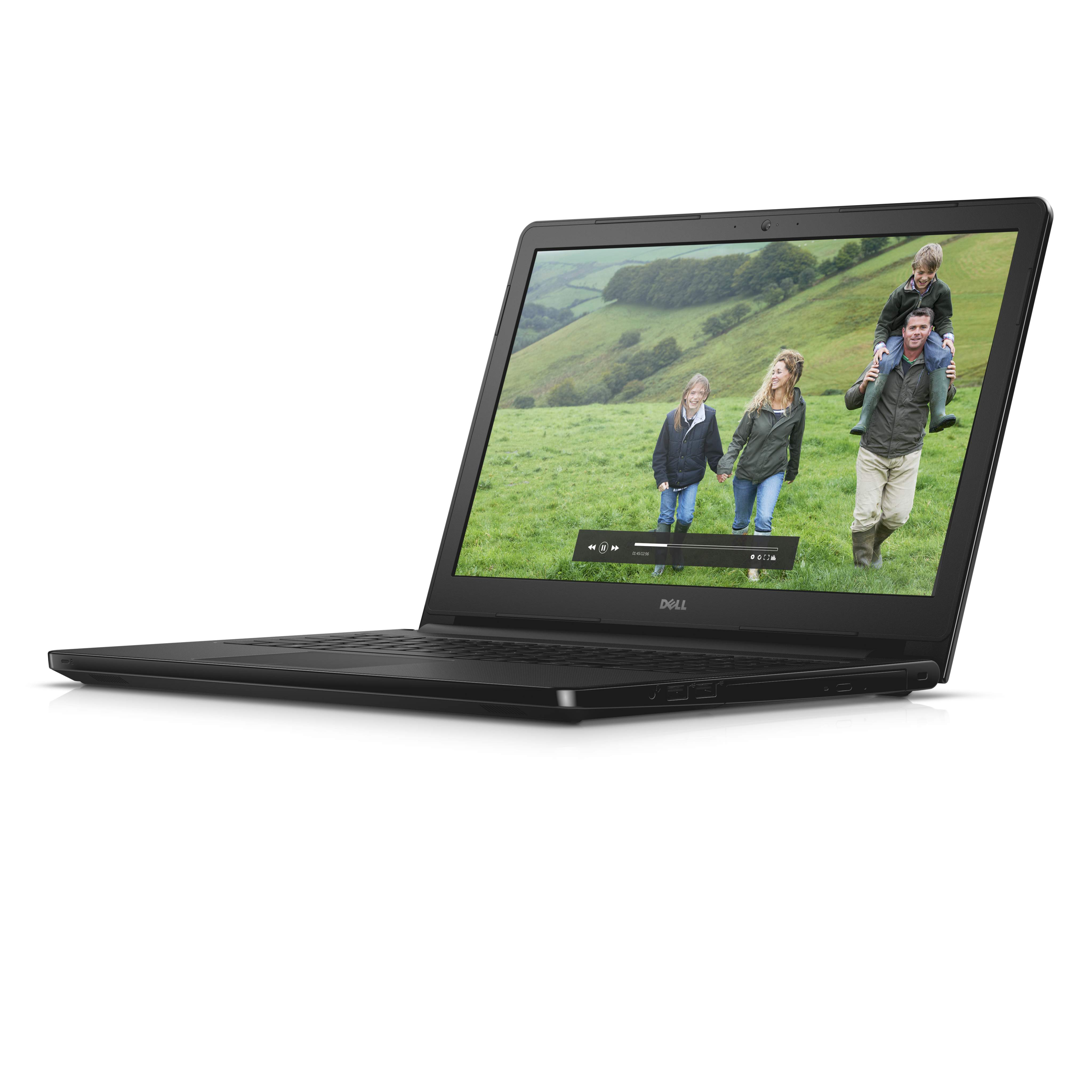 Dell Inspiron 15 5000 Series (Model 5558) Non-Touch 15-inch notebook computer, codename Tulip 15, in Black Gloss with a Broadwell (BDW) processor.