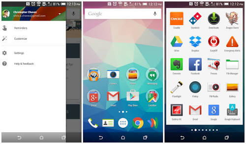 google now launcher
